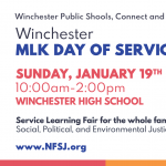 MLK Day of Service Jan 19th